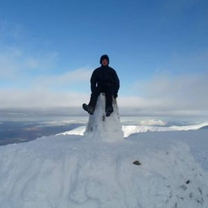 Ben Nevis (1 344 metres above sea level), Scotland, Great Britain